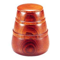 画像1: 竹の子 入子弁当 拭漆 (たけのこ いれこべんとう ふきうるし)