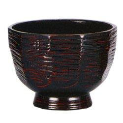 画像1: 【名入れ無料の漆器 椀/ボウルの通販】曙 たっぷり雑炊椀